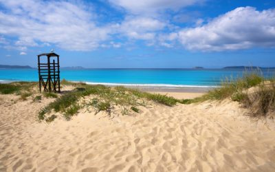 Saltar en las playas de San Senxo!